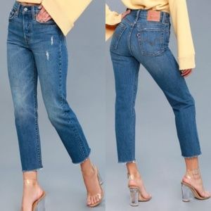 Levi's Wedgie Straight Jean in Lasting Impression